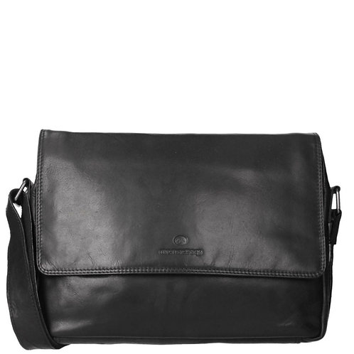 Messenger Schoudertas Black
