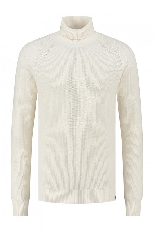 Rollneck Soft Cotton Offwhite
