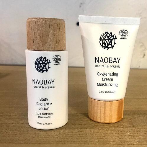 Naobay set Body lotion & 'Oxygenating Moisturizing Cream'