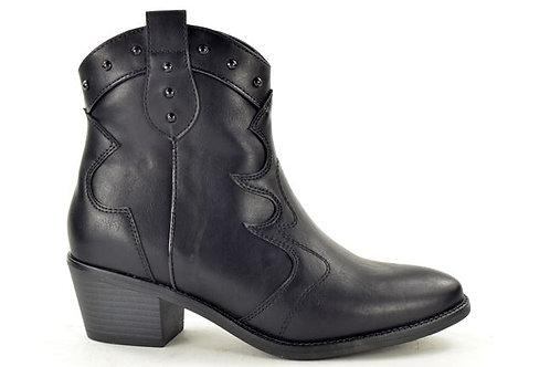 Fabs Western Boots Zwart