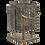 Thumbnail: Metaal bruine lantaarn