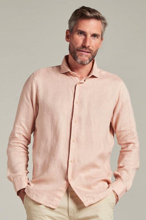 Jagger Shirt Linen Pink