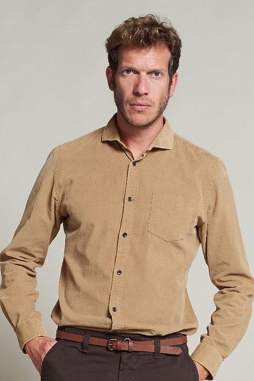 Babycord shirt Khaki