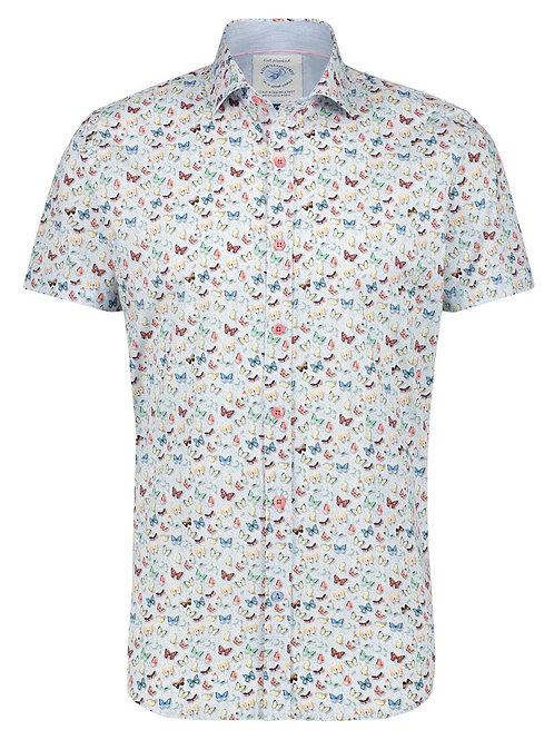 Shirt butterflies white 22.03.083