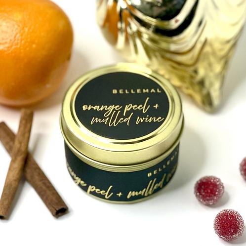 Orange Peel + Mulled Wine