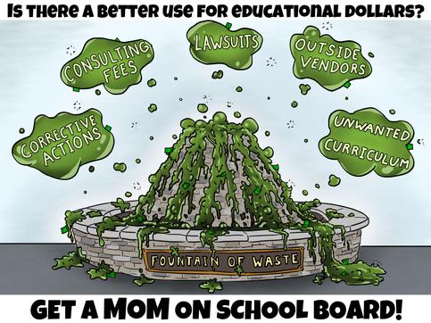 School Board Cartoon