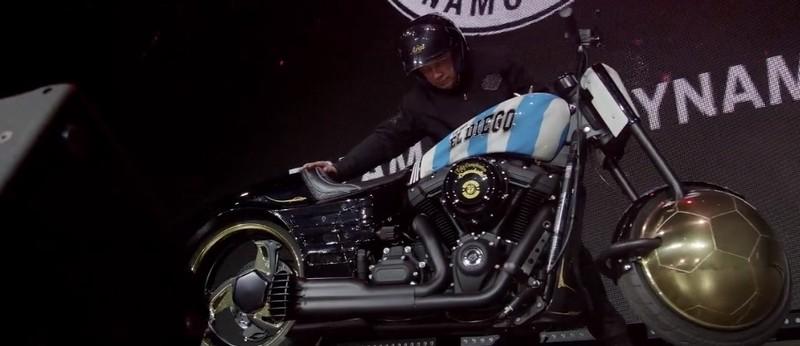 Motorcycle for Maradona