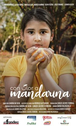 CON OLOR A MANDARINA