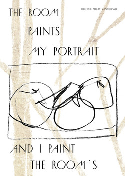 The room paints my portrait, and I paint