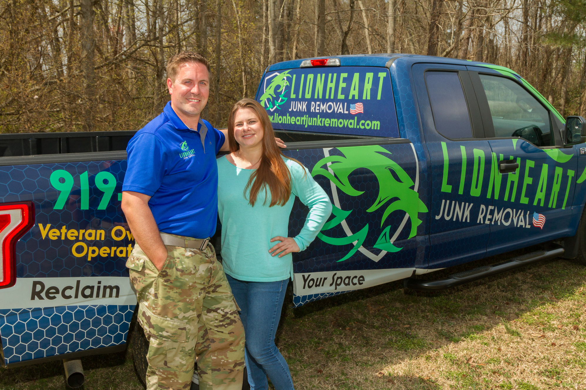 Veteran Owned Junk Removal In Raleigh Lionheart