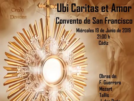 """El Coro de Cámara """"Nova Mvsica"""" en el Covento de San Francisco"""
