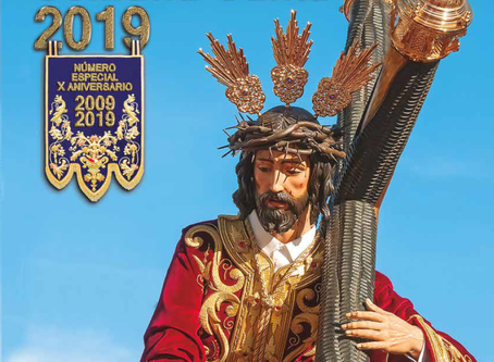 DISPONIBLE LA REVISTA GETSEMANÍ SEMANA SANTA 2019