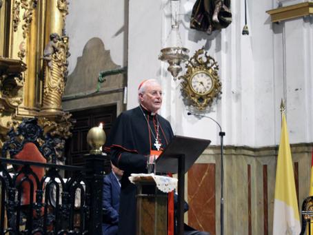 Carlos Amigo Vallejo destaca el papel de las cofradías como parte muy importante de la Iglesia