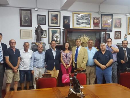 Visita Institucional del Consejo a la Hermandad del Caminito