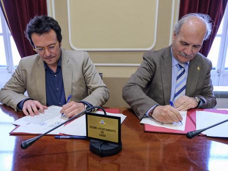 El Consejo de Hermandades y el Ayuntamiento de Cádiz firman el convenio de la Semana Santa 2019