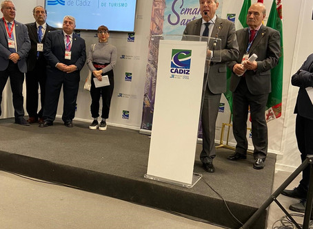 La Feria Internacional de Turismo (FITUR) acogió la presentación de la Semana Santa de Cádiz 2020