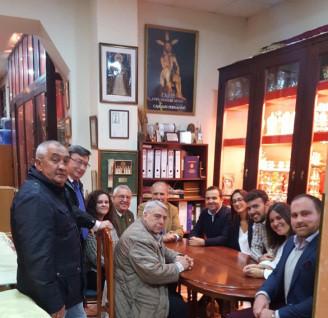 Humildad y Paciencia, nueva visita institucional a las hermandades y cofradías por parte de la Perma