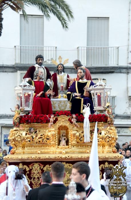 Jesús del Milagro en la Sagrada Cen