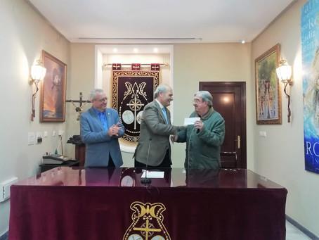 Entregado donativo a La Asociación Reyes Magos de Cadiz por parte del Consejo Local de Hermandades y
