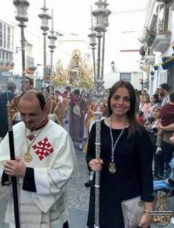 La Permanente, presente en la procesión de la Virgen de la Palma