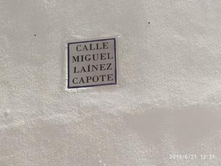 La calle Miguel Láinez Capote es ya una realidad