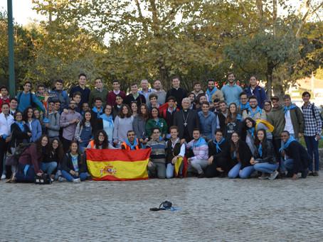 Veintidós jóvenes cofrades toman parte en la peregrinación a Fátima