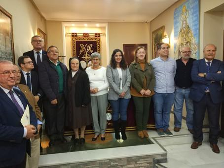 Las cofradías de Cádiz donan más de 11.400 euros a entidades y asociaciones sin ánimo de lucro de Cá