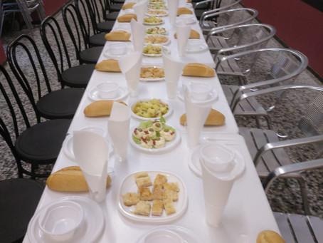 Celebrado un nuevo Almuerzo Solidario para personas sin hogar de Cádiz organizado por el Consejo