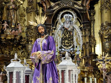 El Señor del Prendimiento presidió un novedoso Vía Crucis