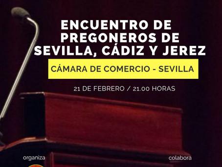 Vicente Rodriguez participara el próximo día 21 de febrero, en el Proemio Cofrade que se celebrará e