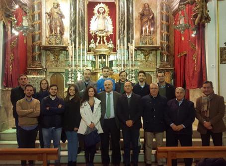 La Palma se une a las corporaciones que reciben la visita institucional de la Junta Permanente