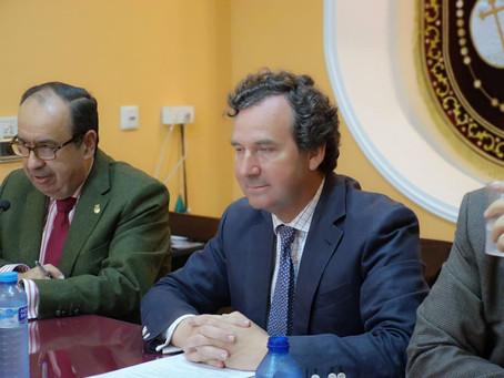 Antonio Troncoso recomienda a las cofradías designar un delegado de privacidad que garantice la gest