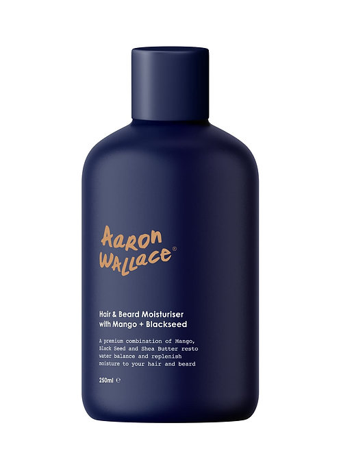 Aaron Wallace Hair & Beard Moisturiser With Mango Butter + Blackseed Oil