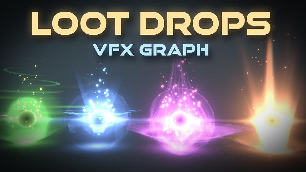 VFX Graph - Loot Drop Effects