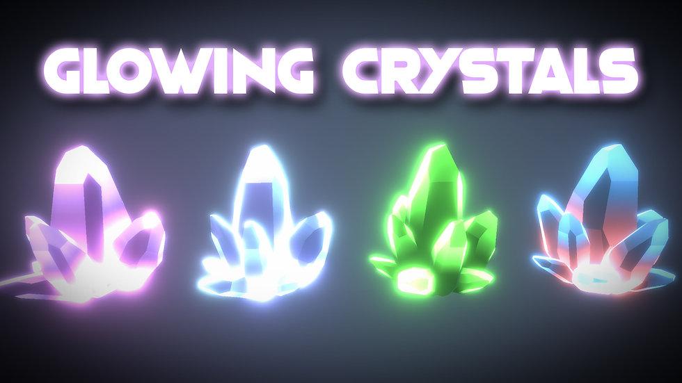 Shader Graph - Glowing Crystals