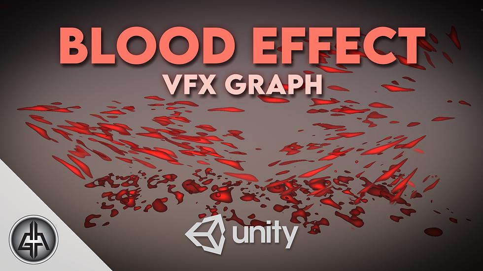 VFX Graph - Blood