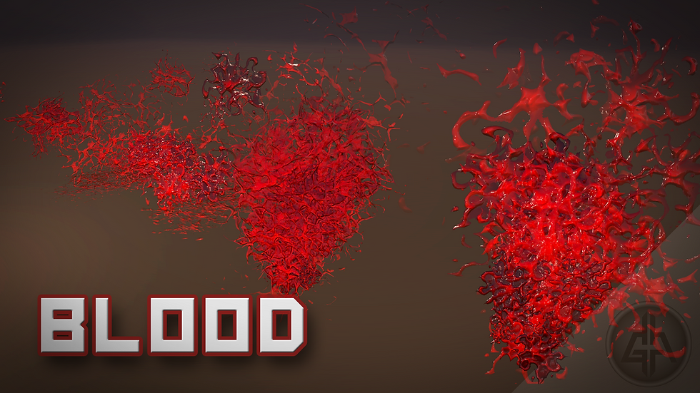 Shader Graph - Blood - Project