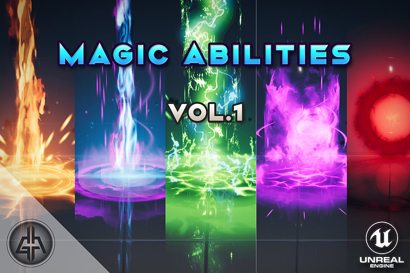 AoE Magic Abilities Vol.1 - UE 4