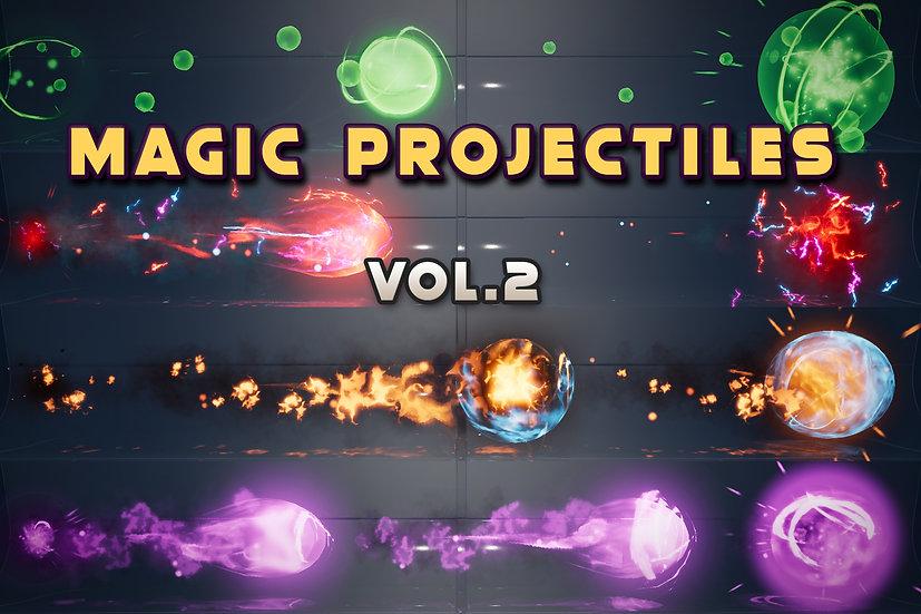 Magic Projectiles Vol.2 - UE 4