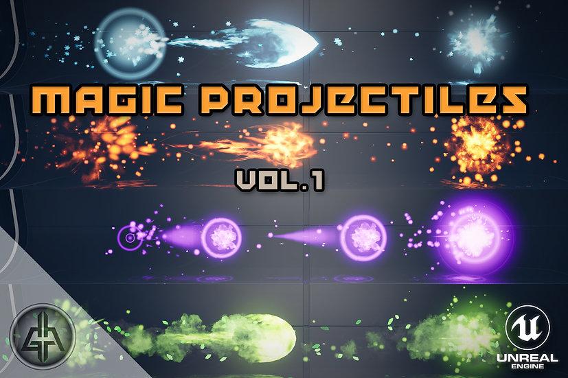 Magic Projectiles Vol.1 - UE 4