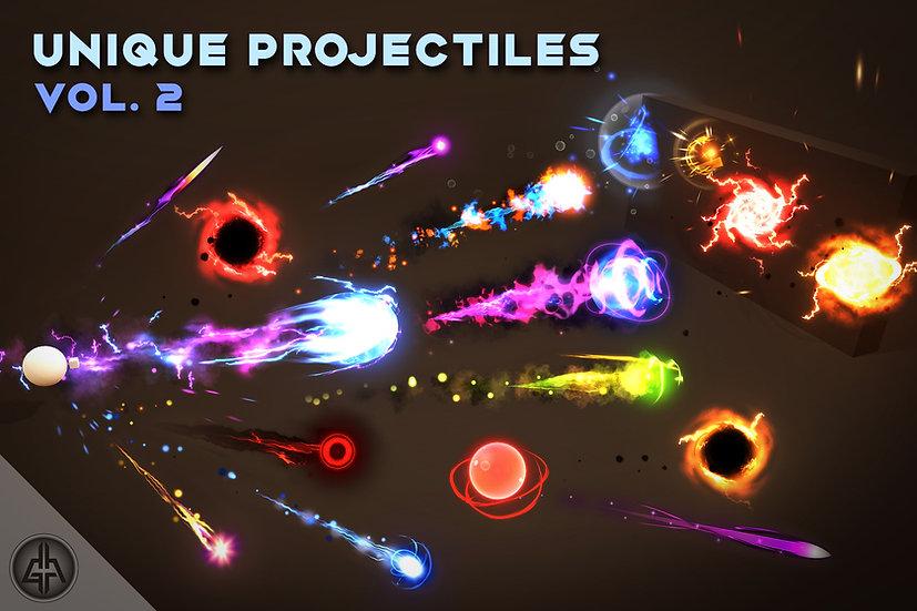 Unique Projectiles Vol.2 - UNITY