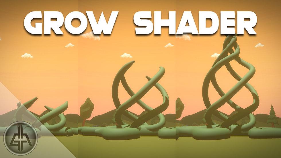 Unity Shader Graph - Grow Vines & Trees