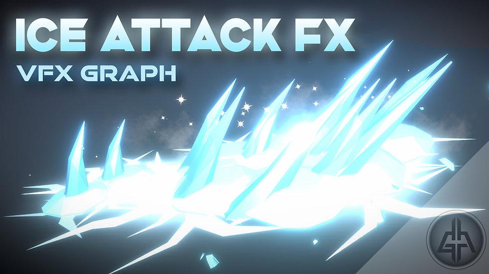 Unity VFX Graph - Ice Attack