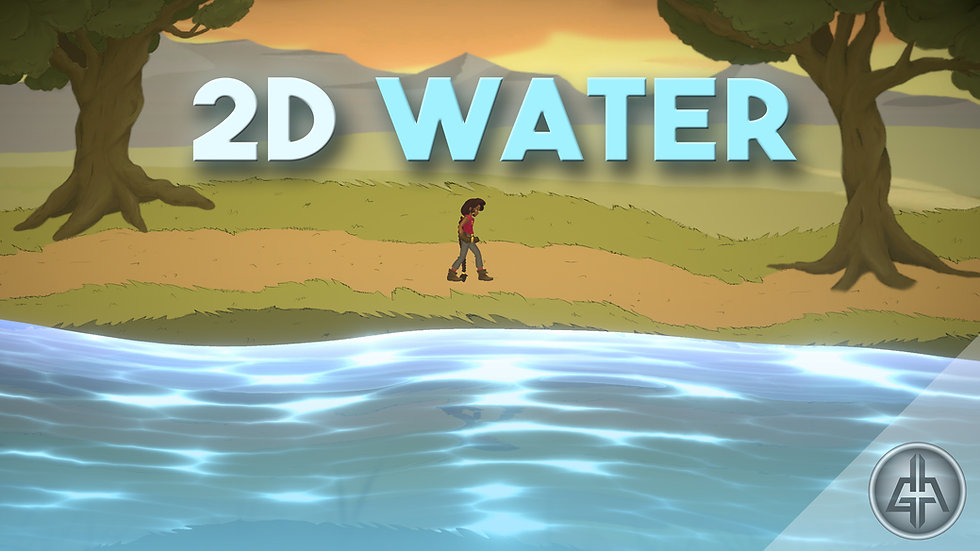 Unity 2D Water - Project