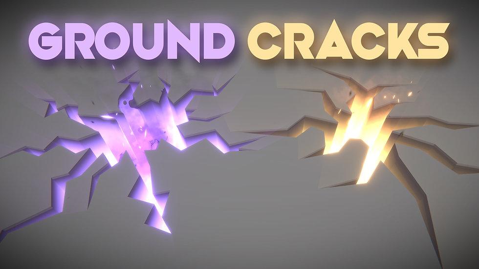 Unity VFX - Ground Cracks / Fissure / Holes