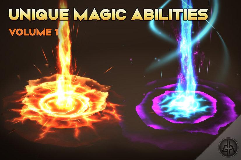 Unique Aoe Magic Abilities Vol.1 - UNITY