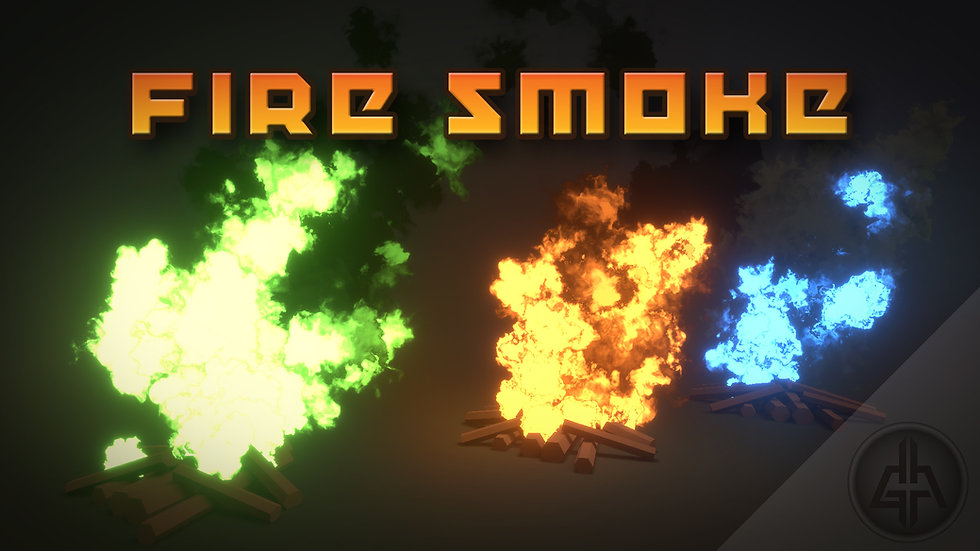 Shader Graph - Fire and Smoke - Project