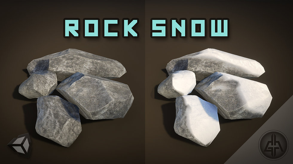 Shader Graph - Rock Snow - Project