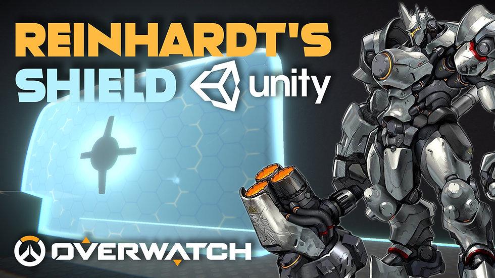 Overwatch Reinhardt's Shield in Unity