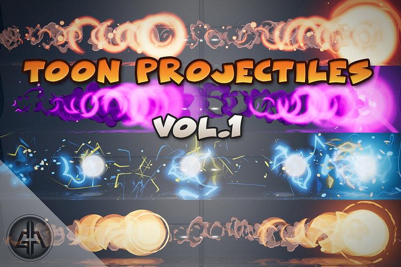 Toon Projectiles Vol.1 - UE 4